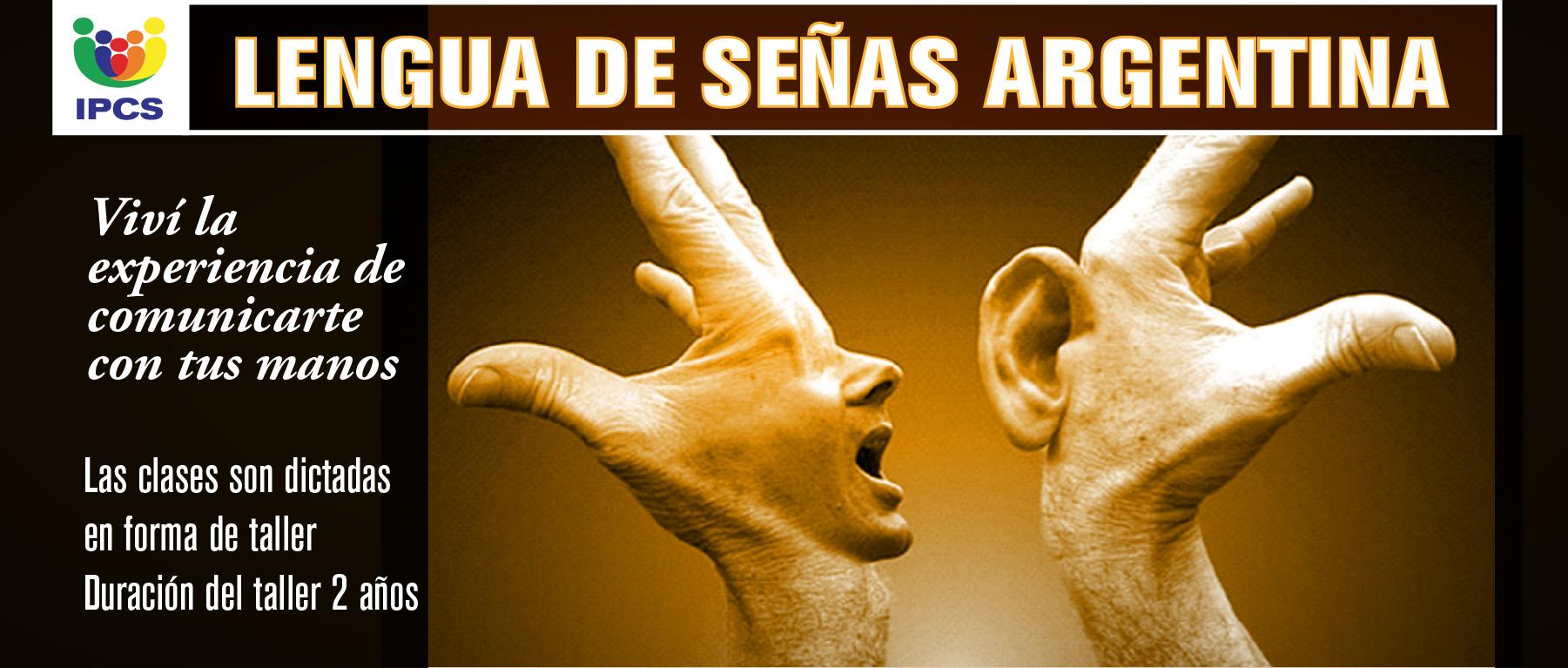 Lengua de Señas Argentina